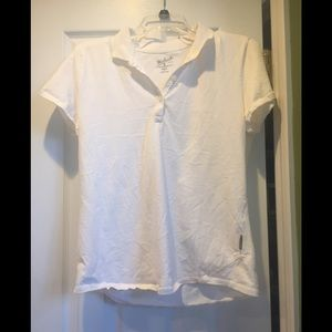 Woolrich Women's White Polo T-shirt Med New